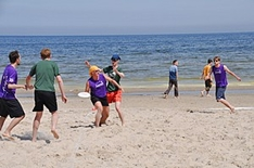 Ultimate Frisbee-Turnier in Karlshagen, Insel Usedom