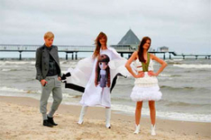 Mode-Shooting für  Usedom Baltic Fashion Award